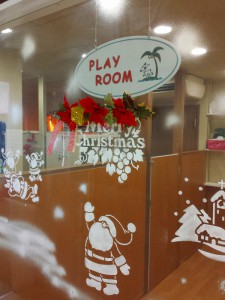クリスマス使用・プレイルーム